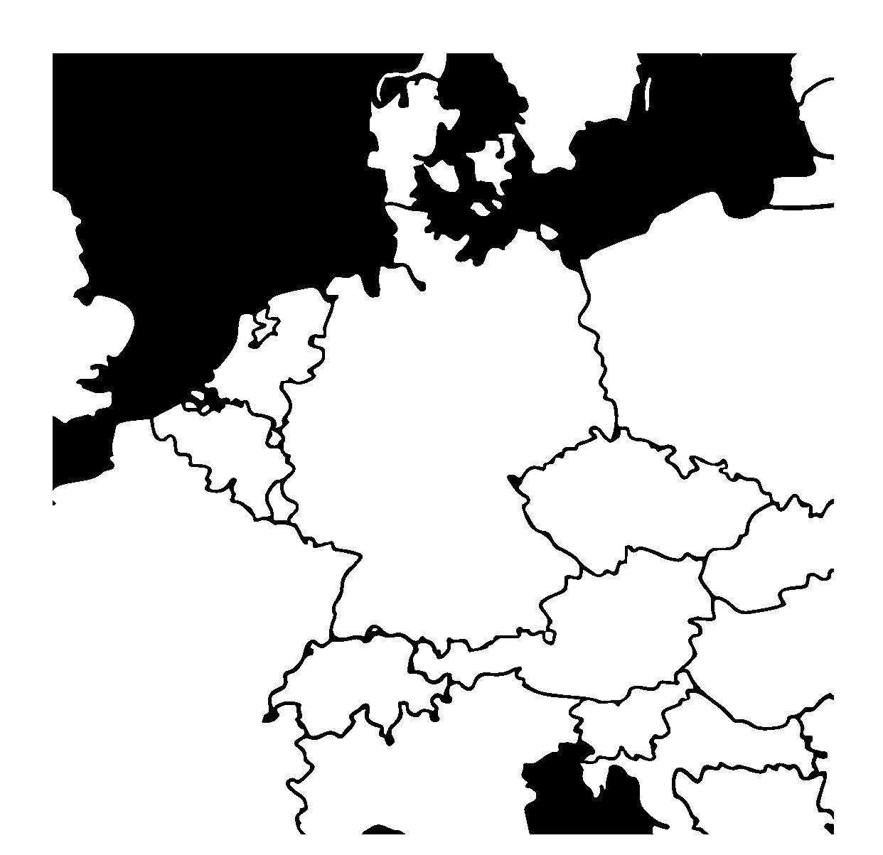 Kunden Deutschlandkarte five digital